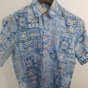 Other - Makapuu Sportswear Blue Hawaiian Shirt 70520-1clo